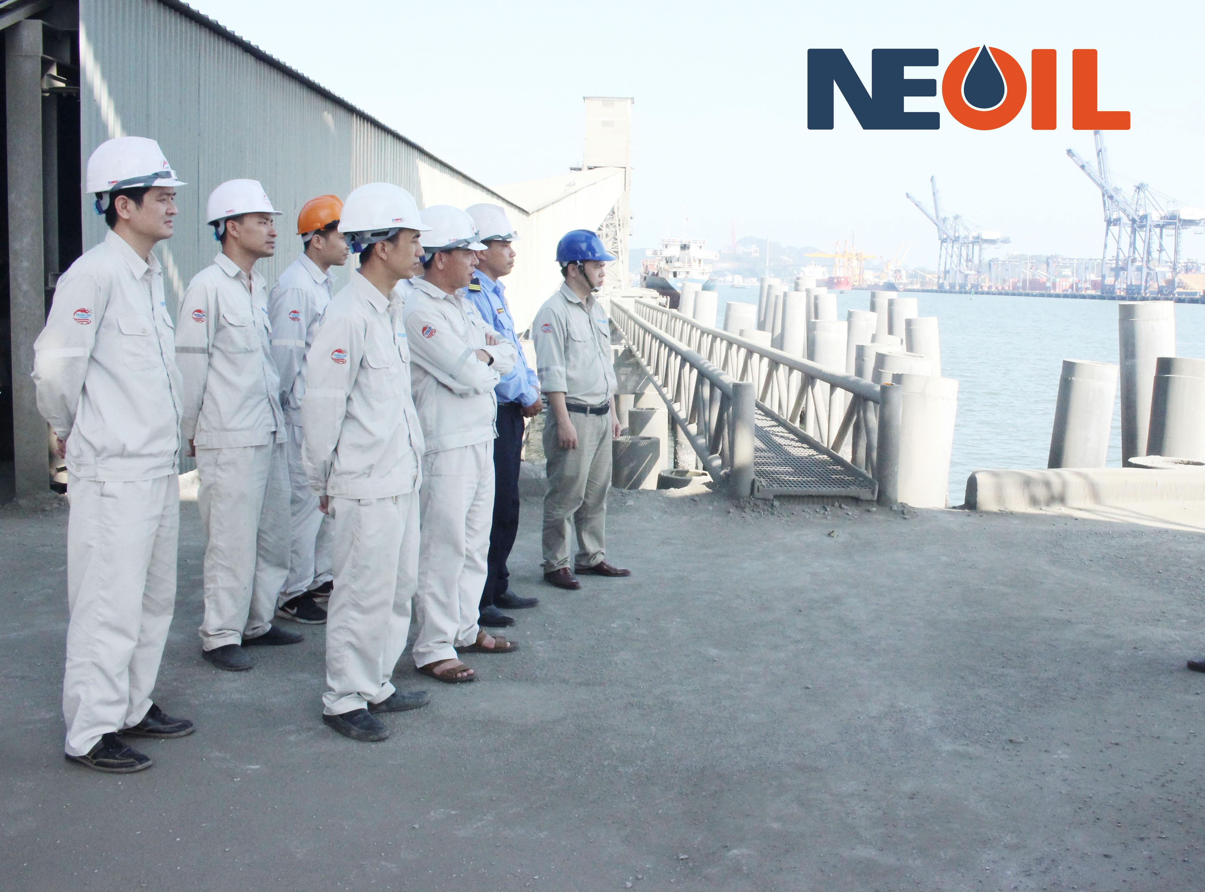 Diễn tập ứng phó sự cố tràn dầu cảng Xi măng Thăng Long Hải Phòng 2019