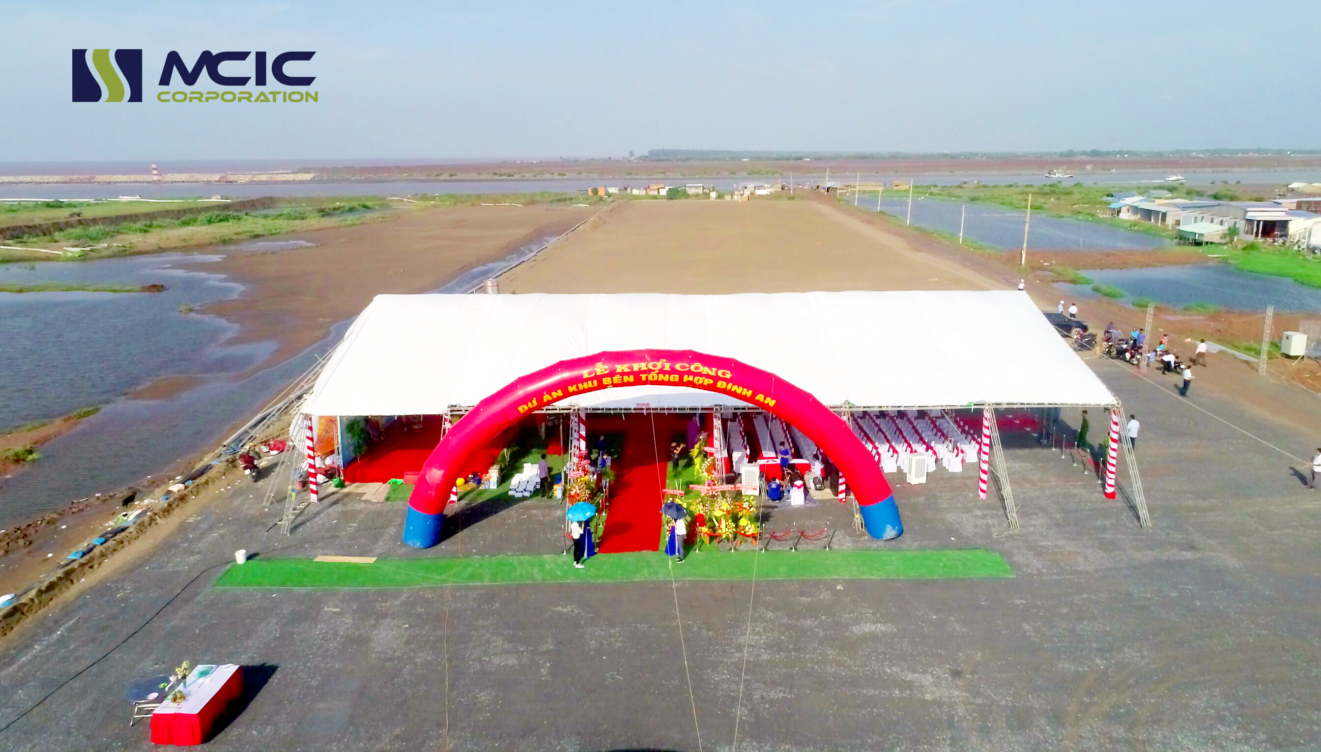 Khởi công xây dựng khu bến cảng tổng hợp Định An Trà Vinh