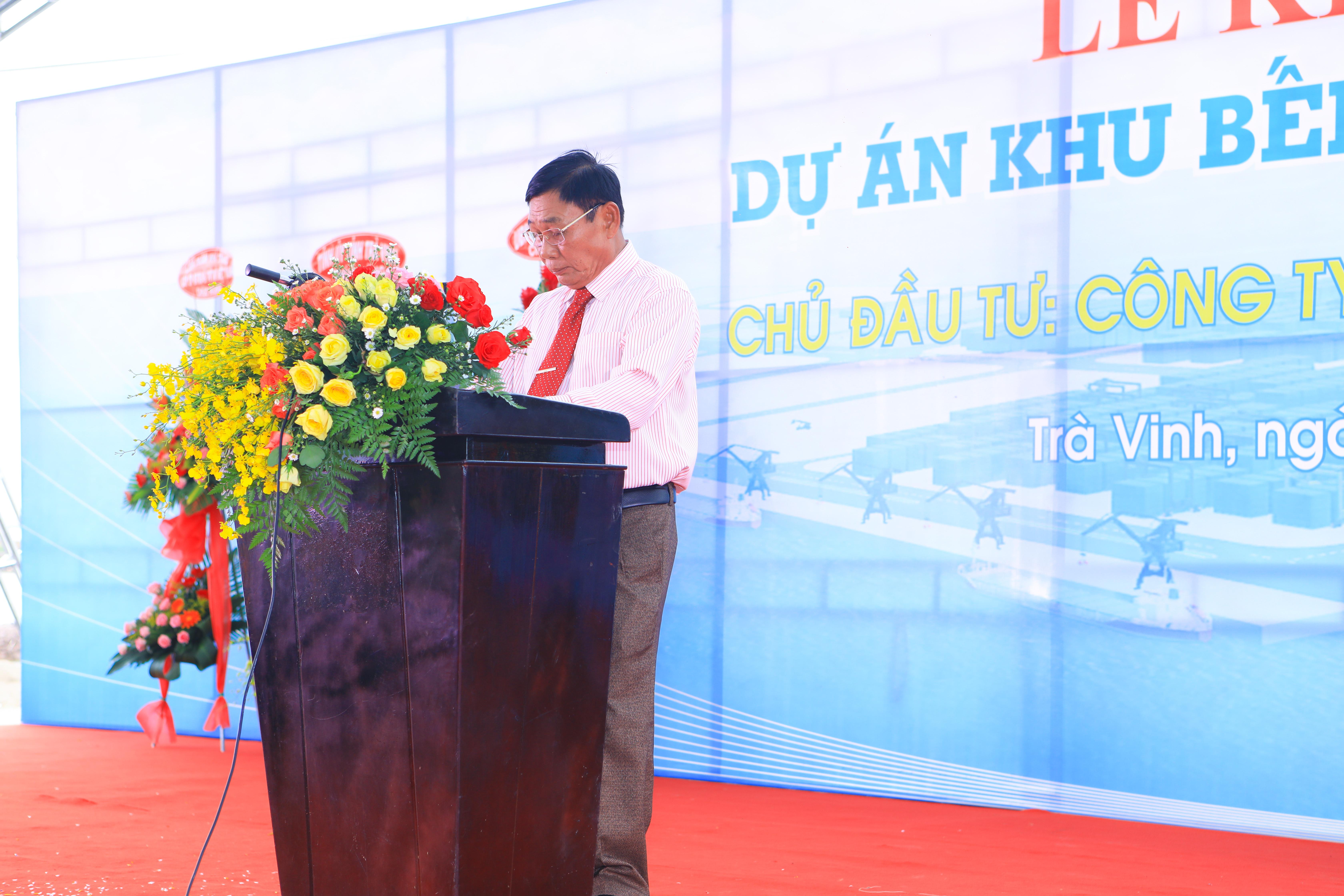 Khởi công xây dựng khu bến cảng tổng hợp Định An Trà Vinh - MCIC tư vấn thiết kế và giám sát